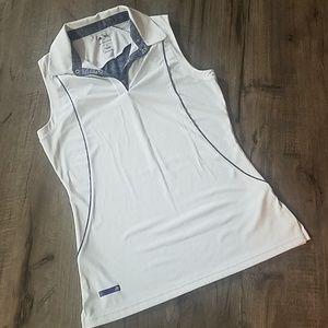 Adidas Puremotion sleeveless polo
